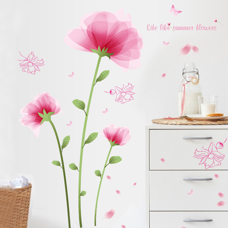 usd 16.62] living room tv background wall wallpaper stickers