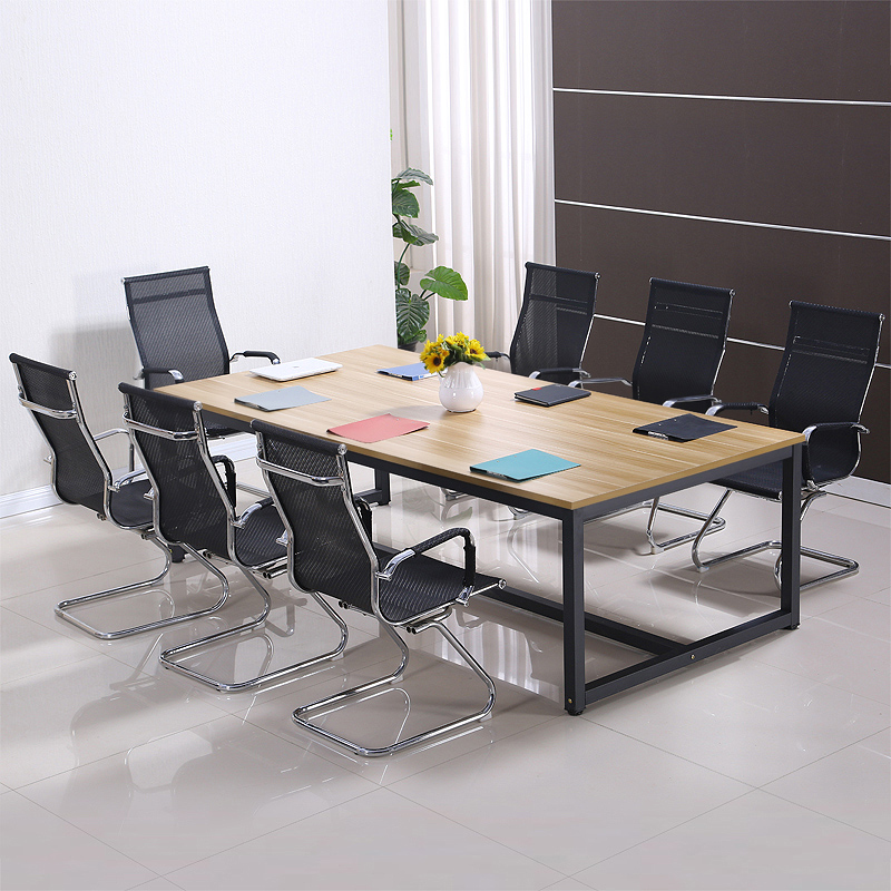 Huanyi Conference Table Long Table Simple Workbench Table Table Table Table Простой поколение Персонал