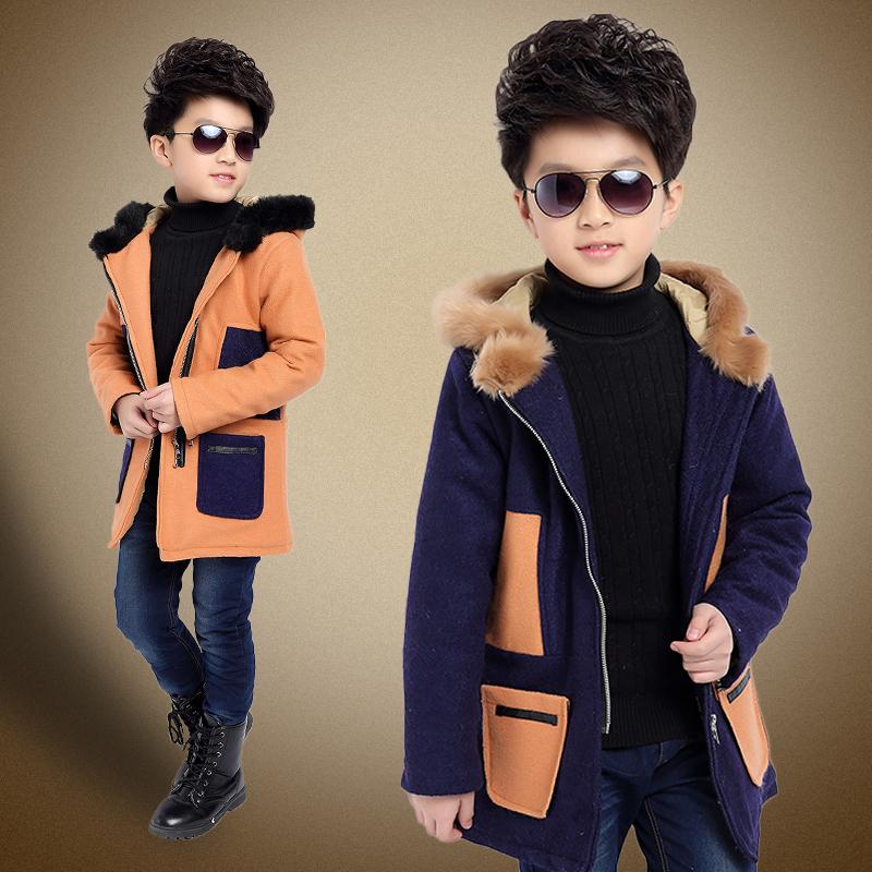 童装男童外套2015新款秋冬装儿童皮衣加绒加厚中大童PU皮衣夹克潮