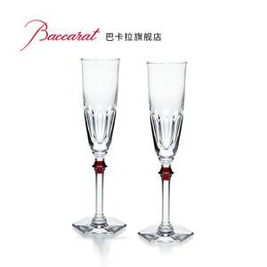 Baccarat/巴卡拉哈酷伊芙香槟杯套装EVE HARCOURT法国进口香槟杯