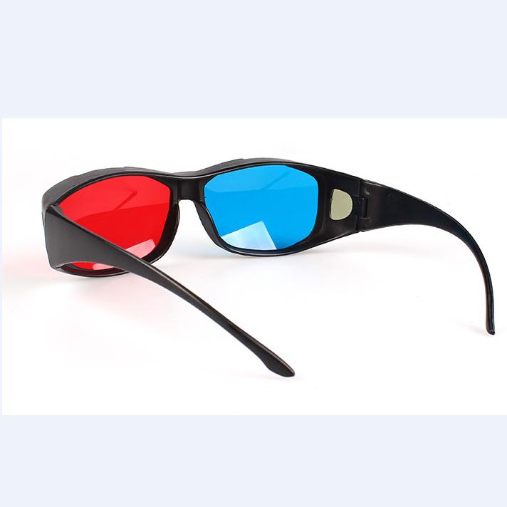 厂家直销3D眼镜 红蓝眼镜立体眼镜 英伟达红蓝眼睛 中框红蓝眼镜