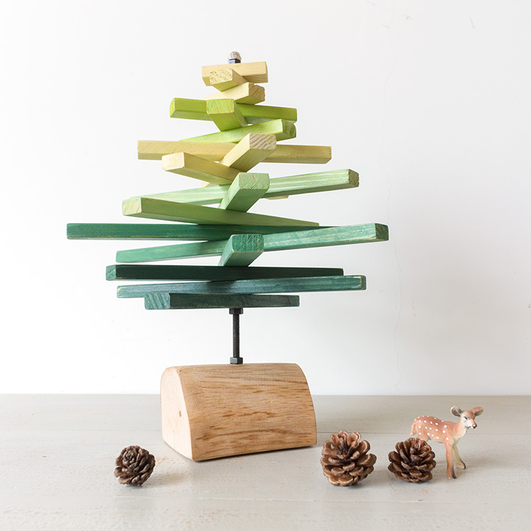 A Ying Nordic Wooden Tree Bookshelf Decoration Creative Home Personalized Furnishings Office Desktop