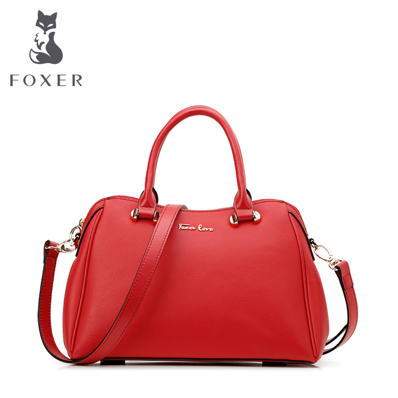 Kim Fox pebbled leather handbag big red Bridal package the new Ms. shoulder Messenger Bag fashion festive