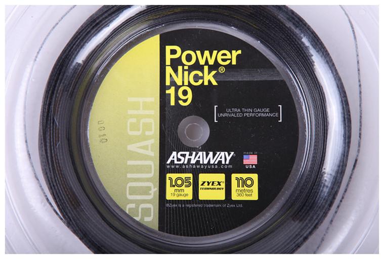 Подлинный сша Ashaway PowerNick 19 - 1.05mm специальность стена мяч линия