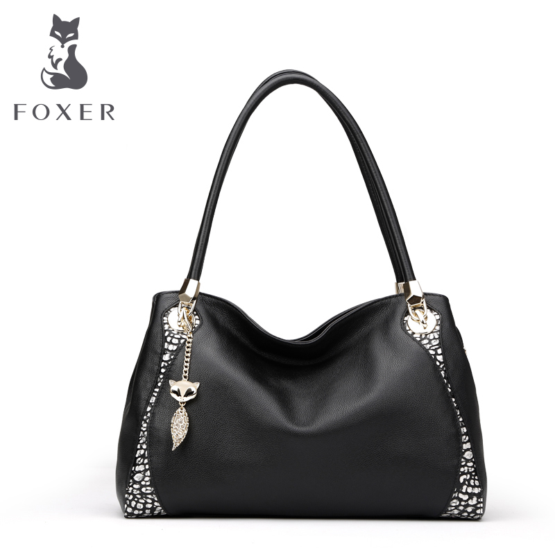 Jin Huli leather leather handbags for 2016 new stylish black and white color flashes women's handbags shoulder bag