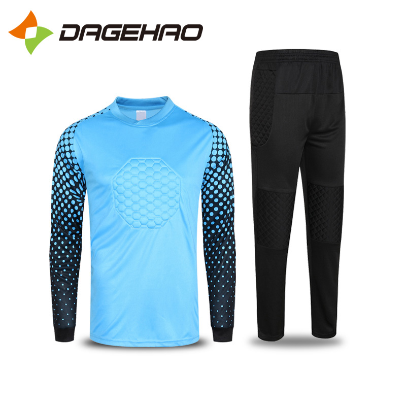 eb4f5994b51 Dagger Ho long-sleeved goalkeeper clothing goalkeeper jersey Longmen soccer  uniform personality printing printing multi-color optional