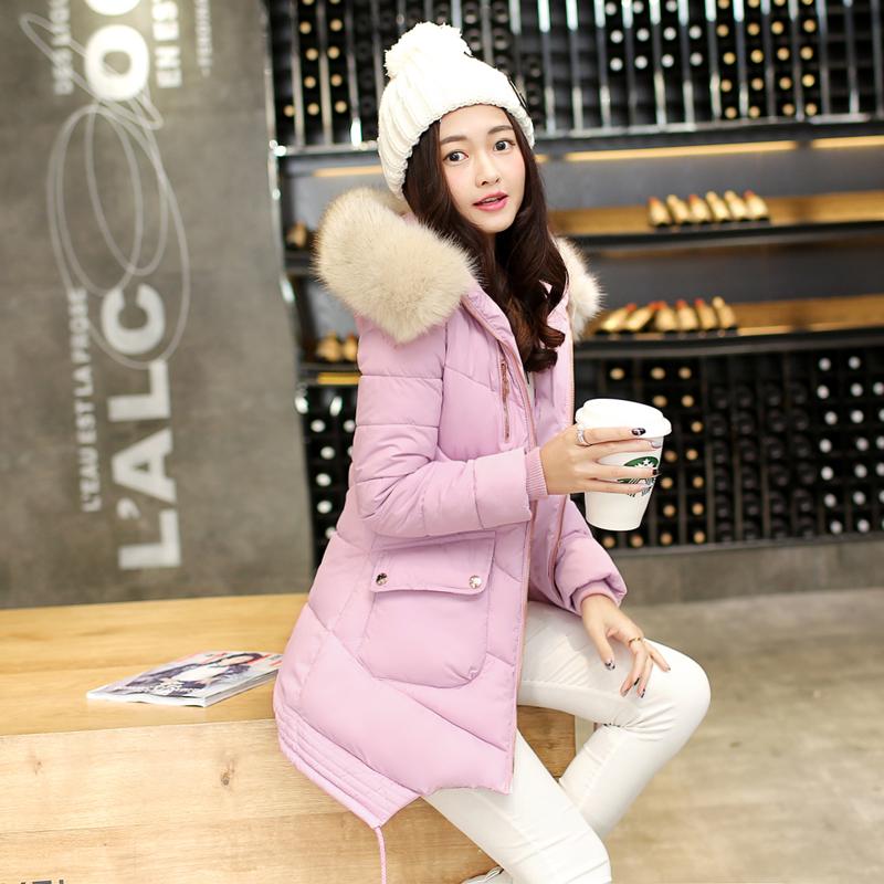 韩国冬装新款加厚棉衣外套女韩版中长款面包服棉袄大码学生棉服