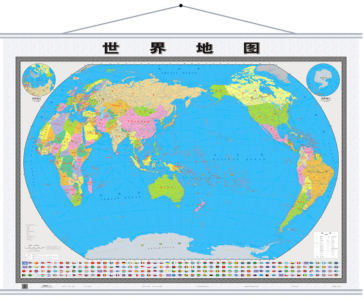 Usd 2930 hardcover upgrade the clear version2018 new version hardcover upgrade the clear version2018 new version of the world map wall chart gumiabroncs Choice Image