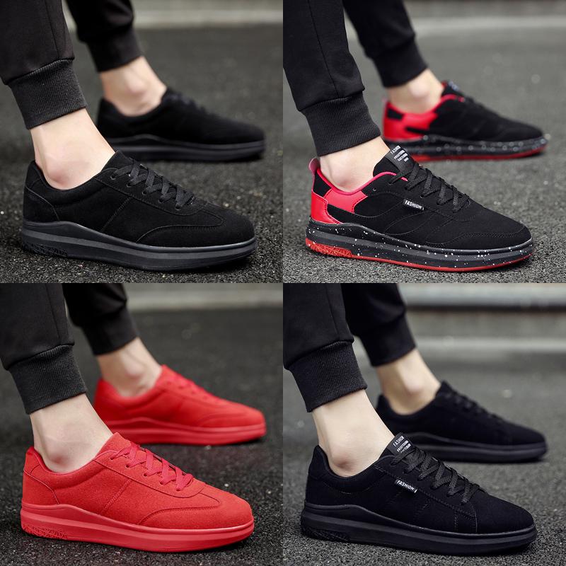 男鞋冬季潮鞋2016新款韩版板鞋英伦学生百搭潮流潮男鞋子个性学生