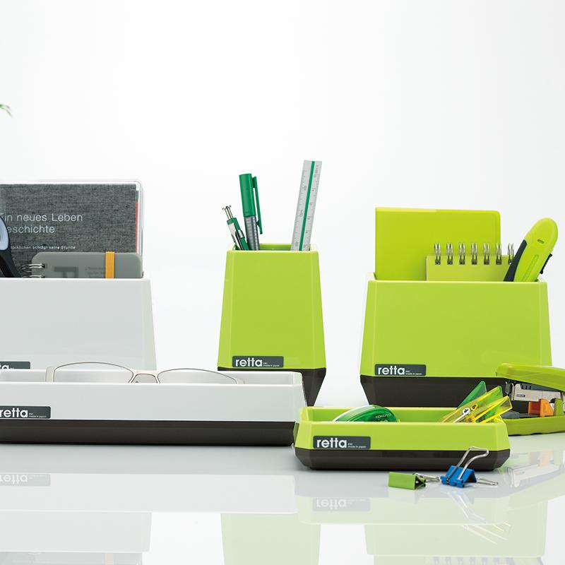 日本进口INOMATA 抽屉置物收纳盒 桌面小物整理盘 办具置物盒