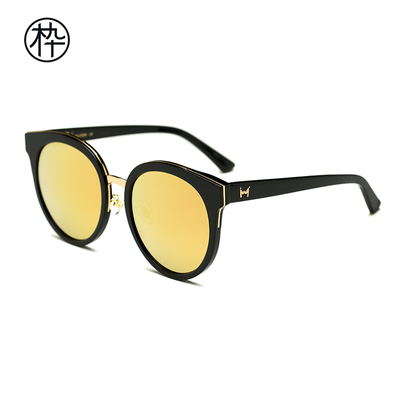 fabb910ea4 Fashion sunglasses women tidal round frame wood ninety new products  sunglasses SM1720060. Zoom · lightbox moreview · lightbox moreview ...