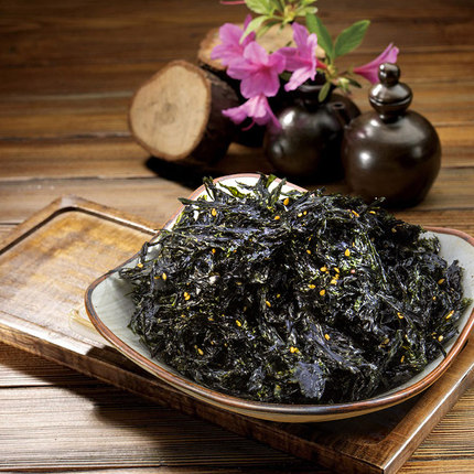 海朴即食海苔40g 儿童零食 烤海苔即食紫菜大连特产寿司拌饭海苔