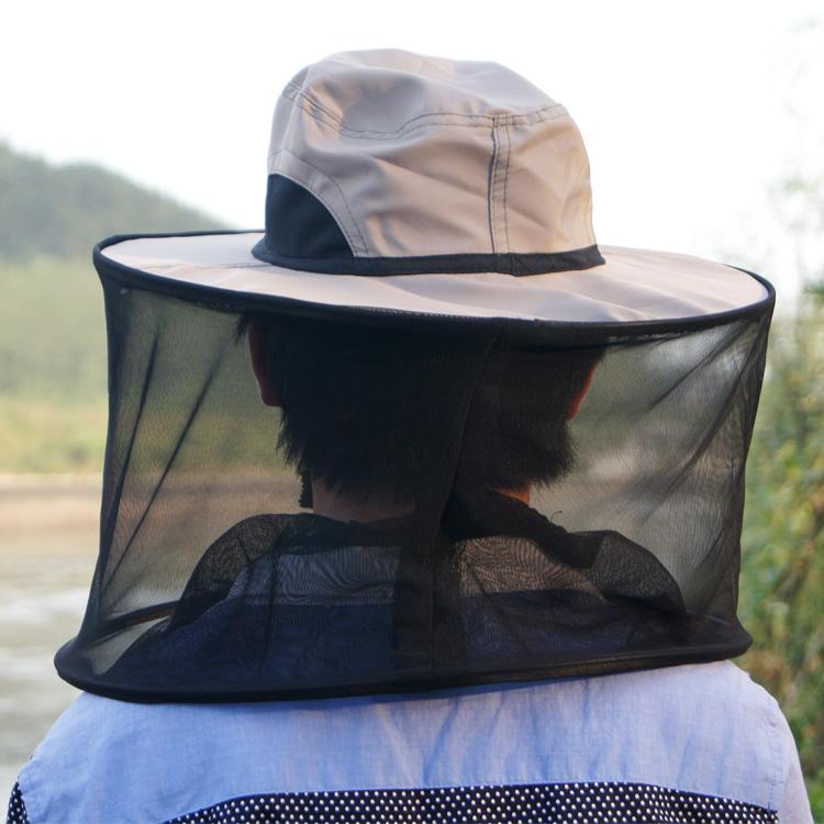 На открытом воздухе вешать рыба ночь рыба крышка противо насекомое комар крышка чистый рыбалка солнцезащитный крем шляпа мужской и женщины противо пчела крышка воздухопроницаемый затенение маска для лица