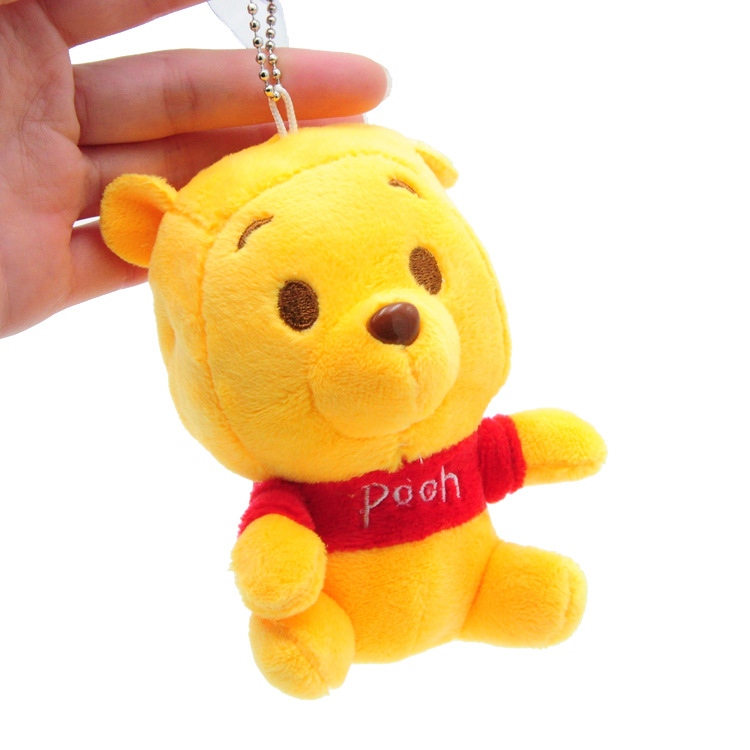 c38150467a8 Cute little Pooh Bear plush toy pendant bag pendant soft Meng doll send  girl romantic birthday gift