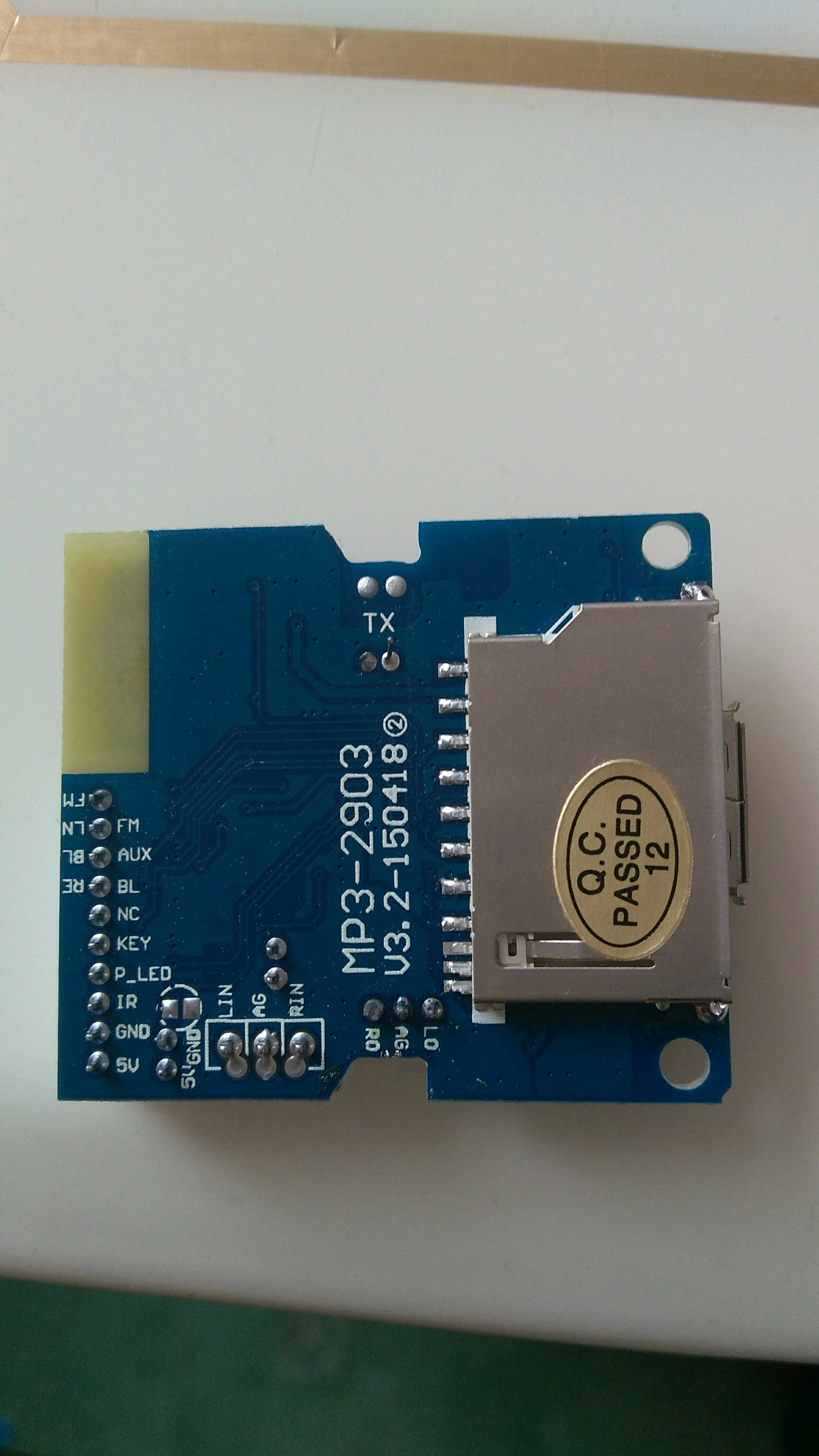 Usd 1558 Mp3 2103a Bluetooth Recording Decoding Board Usb Sd Card Circuit Buy Receiver Boardfm Color Categories With Resistor Button Remote Control Resistance