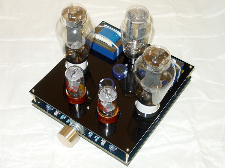 6n8 (6SN7)push 300B or 2a3 electron tube bile single-ended Class A bile  machine onboard integrated design amplifier board