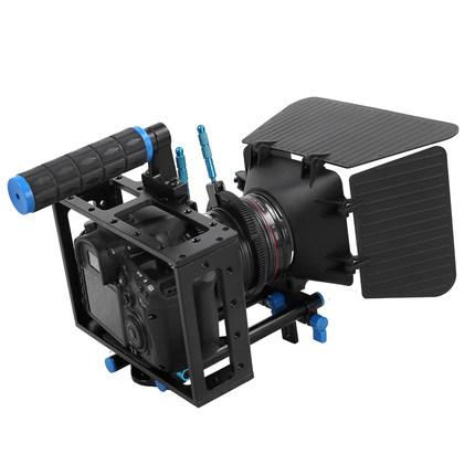 Wolf King SLR camera nhiếp ảnh máy ảnh thỏ lồng kit SLR phụ kiện Canon 5D thỏ lồng dù để che nắng phù hợp với