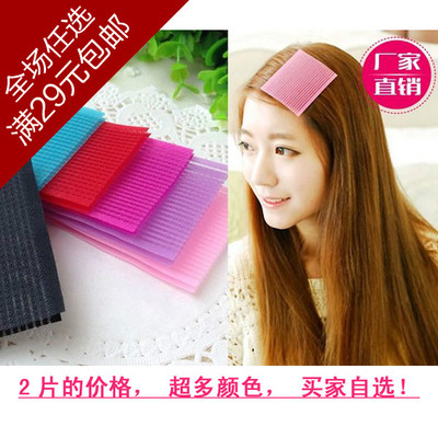 00115 candy color bangs stick hair fixed sticky stick wash artifact beauty makeup tools