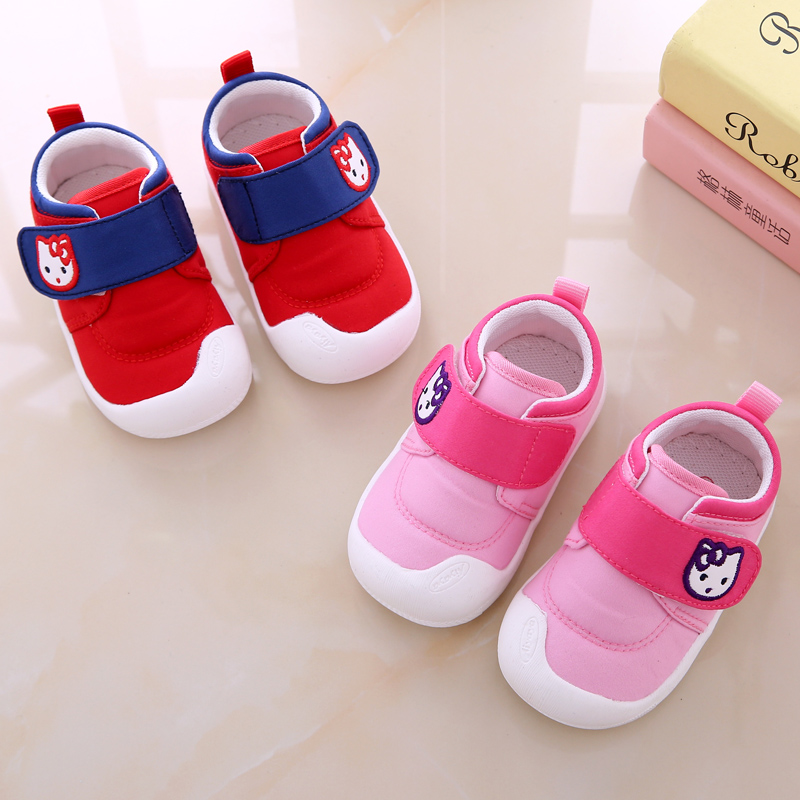 449752f234e7 Baby shoes 5 to 6 Six 7 Seven 8 eight 9 months 12 female baby 10 to 11  single shoes one-year-old half-slip soft bottom
