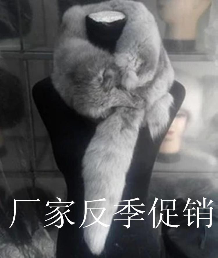 Шуба мех целую только лиса шарф весь лиса кожа нагрудник лиса недвижимость волос меховым воротником сын шаль зима мужской и женщины 43445975485