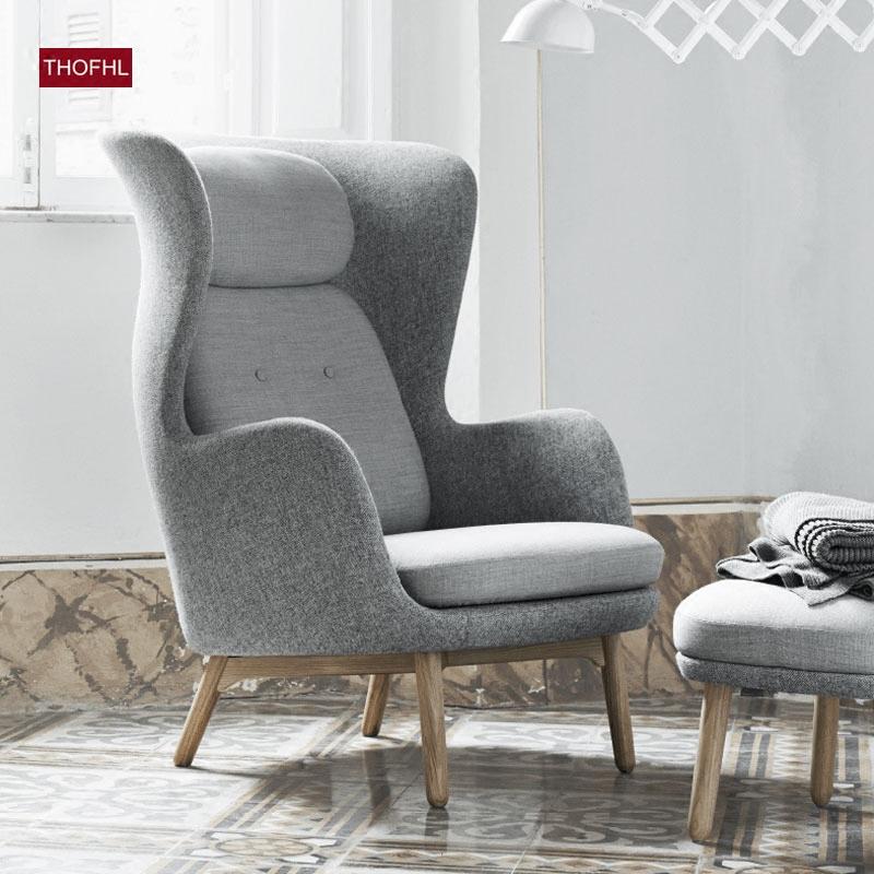 千健 現代簡約沙發椅 老虎椅 單人高背椅 北歐單椅 休閑椅 躺椅