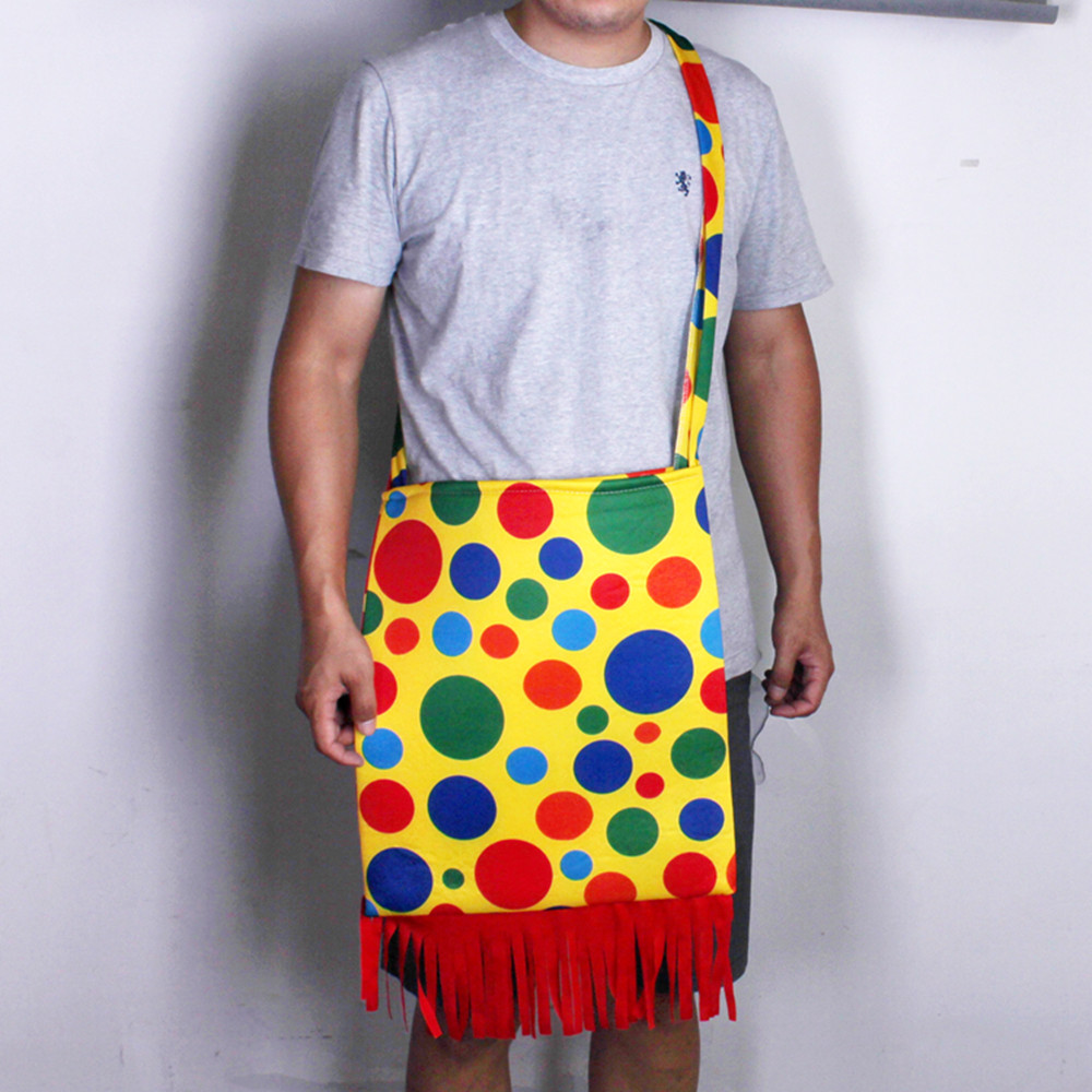 Lin Fang 85gcosplay clown clothing accessories accessories clown props bag clown shoulder bag backpack clown bag