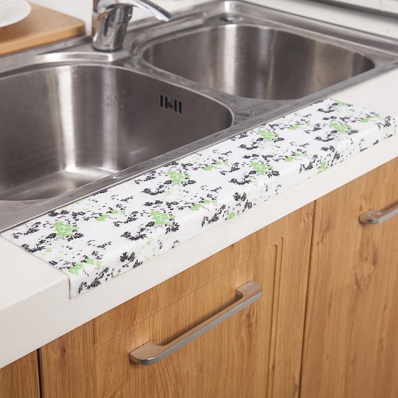 Sink Waterproof Paste Kitchen Wash Basin Moisture Absorption Bathroom Washbasin Electrostatic Absorbent No