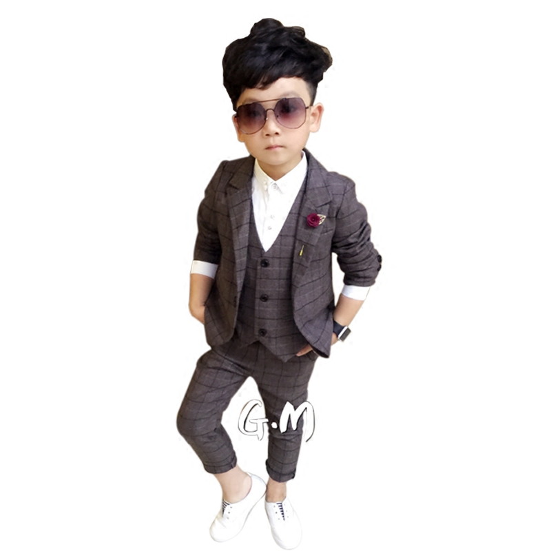 Children Suit Suit Man 2018 New Handsome Flower Boy Dress