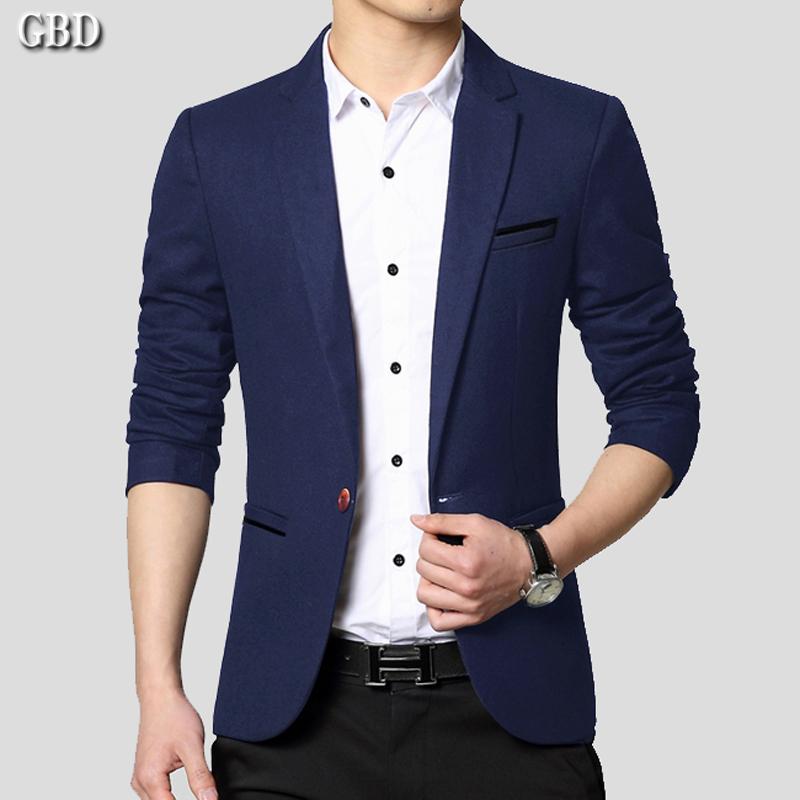 2018 mùa xuân người đàn ông mới của thanh niên triều của nam giới kinh doanh bình thường phù hợp với áo khoác nhỏ tây trang trí cơ thể Hàn Quốc phiên bản của Tây duy nhất