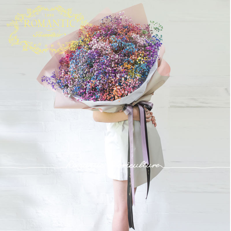 USD 99.47] 1 m imported giant bouquet of oversized ice cream flowers ...