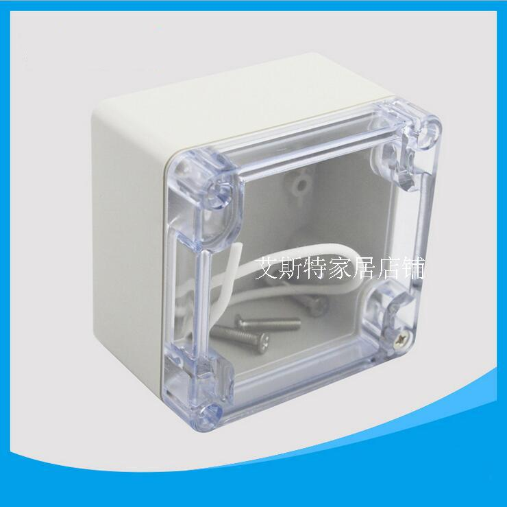 83 81 56mm transparent electrical sealing box small f25t - Sealing exterior electrical boxes ...