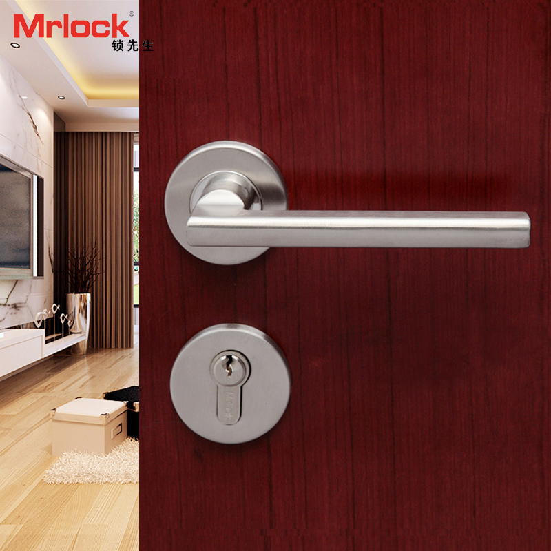 Best of Mrlock lock Mr 304 stainless steel door lock indoor bedroom door lock solid wood door Simple - Best of metal door lock Contemporary
