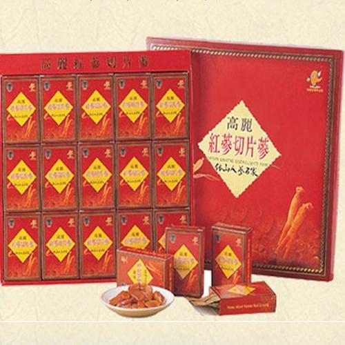 Korean Red Ginseng Korean ginseng honey slice 200g Mid-Autumn festival gifts