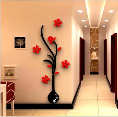 3d贴画亚克力墙贴客厅墙玄关背景立体墙装饰墙沙发电视布置贴纸画