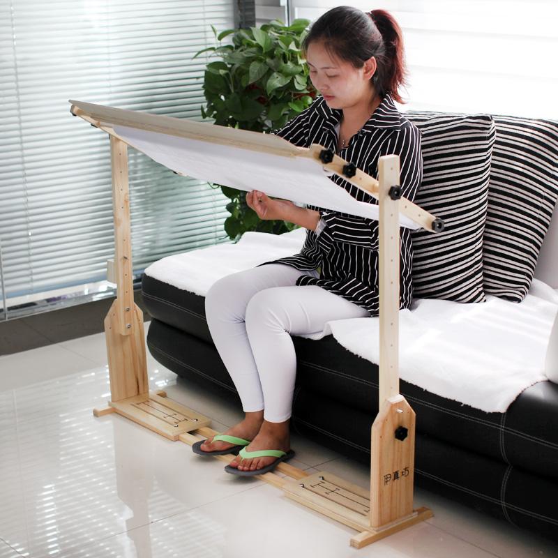 Вышивка крестом инструмент 80 см номер может быть настроить сидеть стоять рабочий стол многофункциональный вышивка крестом полка дерево расширение твердый