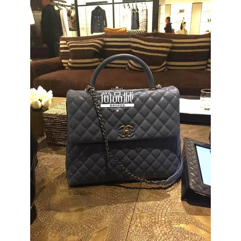 正品直邮Chanel 香奈儿2016新款 女包 时尚真皮单肩手提包