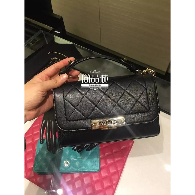 正品直邮Chanel 香奈儿2016新款女包 时尚链子 单肩斜挎包