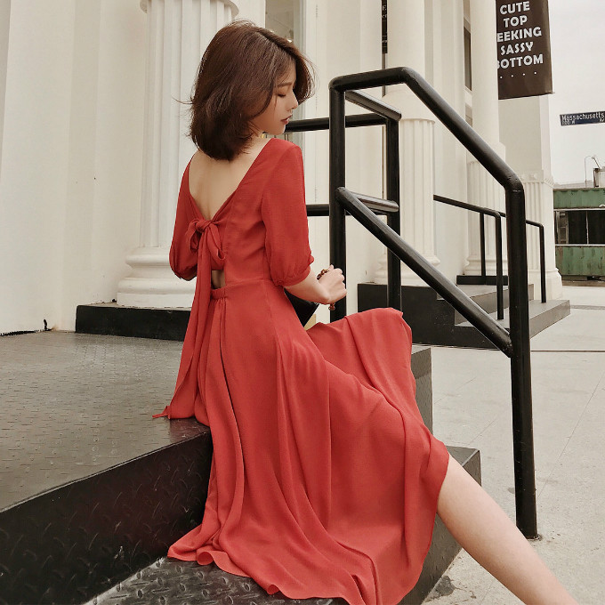红色连衣裙,气场能赢红毯女星 服装 第7张