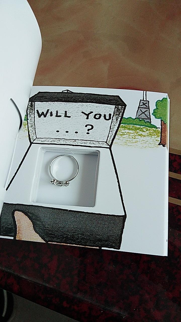 抖音同款:藏戒指的书