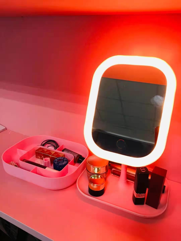【夏新】7寸高清化妆镜