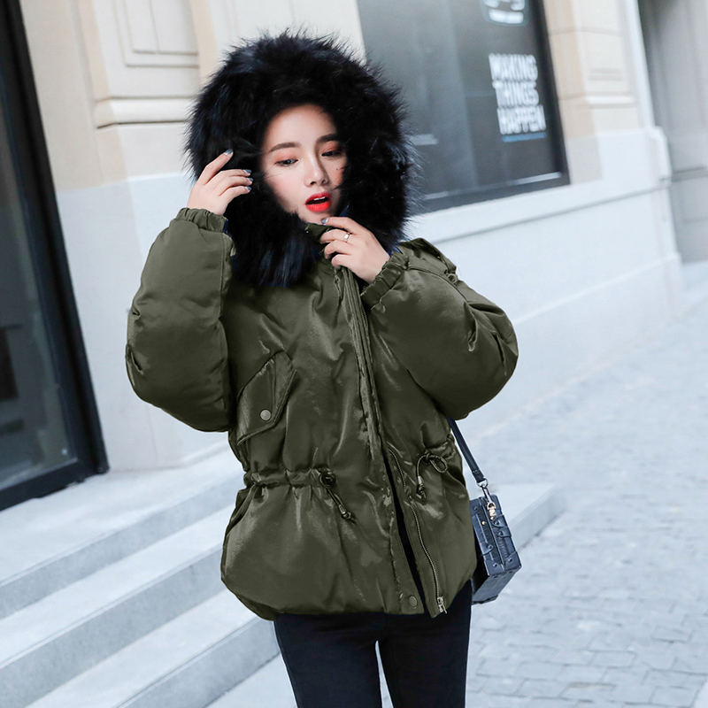 The New Korean Version Of Gold Velvet Cotton Padded Jacket, Female Fashion Collar, Fashion Jacket, Jacket And Jacket.