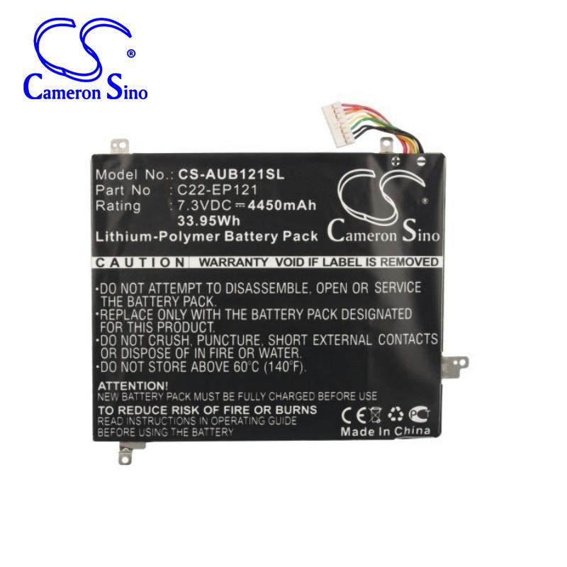 CameronSino适用华硕AsusEeePadB121Slate电池平板C22-EP121