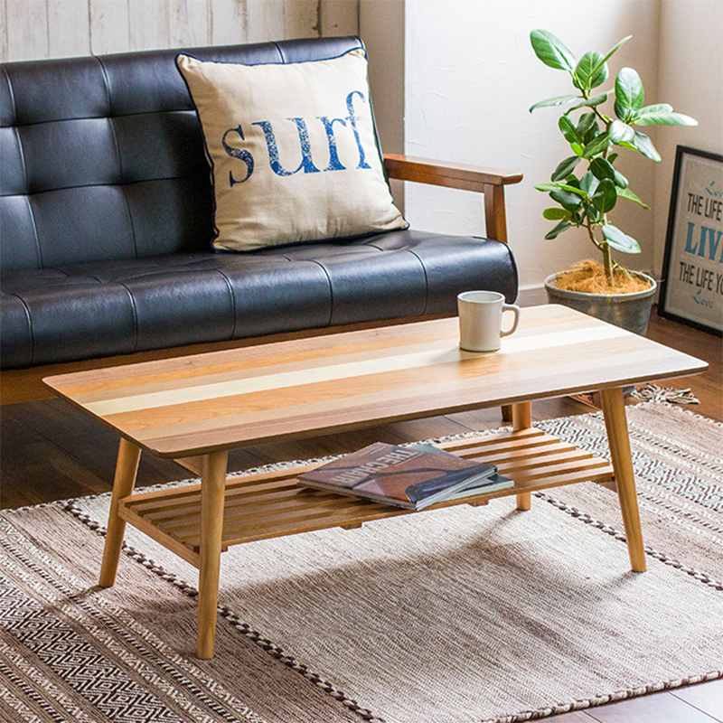 Japanese Style Multi Function Spell Color Small Apartment Rectangular  Coffee Table Living Room Stepping