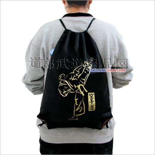 Дорога мужчина ◎ TEKWOO титан военный пустой рука дорога удар KarateKick водонепроницаемый шнурок движение рюкзак рюкзак задний мешок