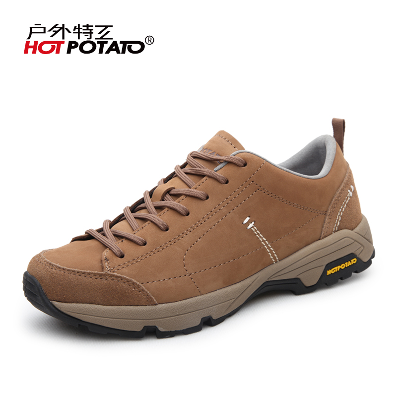 Outdoor agent autumn and winter business casual shoes walking shoes men s  lightweight breathable leather travel hiking e169413ca78