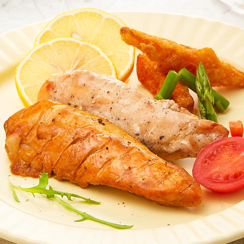 薄荷健康 低脂鸡胸肉健身代餐即食轻食速食高蛋白轻卡鸡肉零食8袋