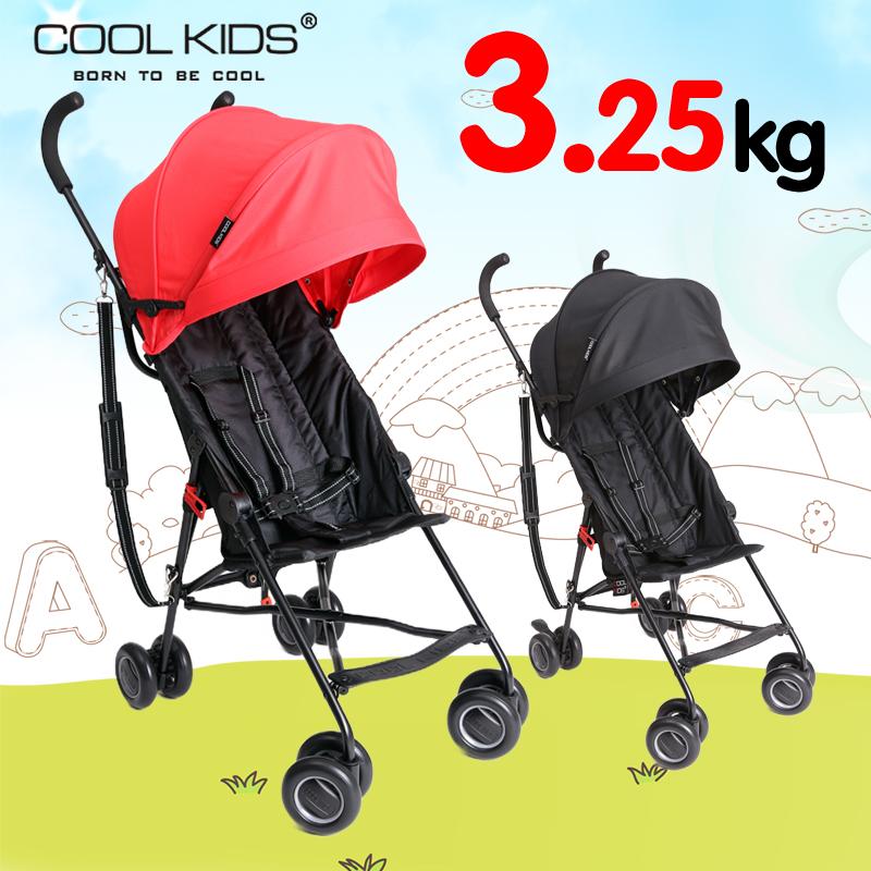 日本COOLKIDS推车童手推伞车超轻便携折叠可坐可半躺婴儿宝宝