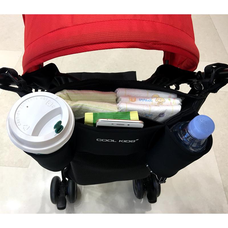 Япония тележки мешок висит сумка мама мешок ребенок дети зонт одноместный автомобиль двухместный сотовый шина автомобиль чистый черный мешок стенды мешок