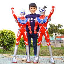 奥特曼玩具超大号儿童银河超人迪迦泰罗赛罗变身器召唤器男孩套装