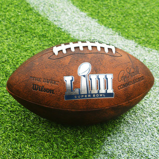 Will wins Wilson rugby American retro simulation leather Super Bowl Patriots game training NFL No. 9
